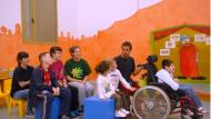 Nens i nenes jugant a 'Temps per tu'