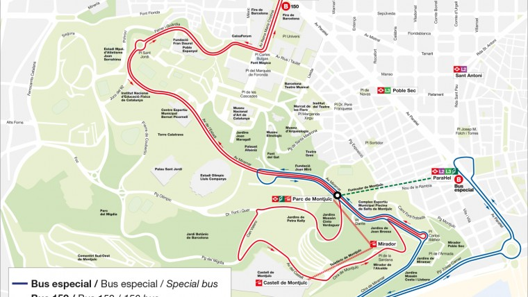 The Montjuïc funicular railway closes for 4 months | Info Barcelona ...