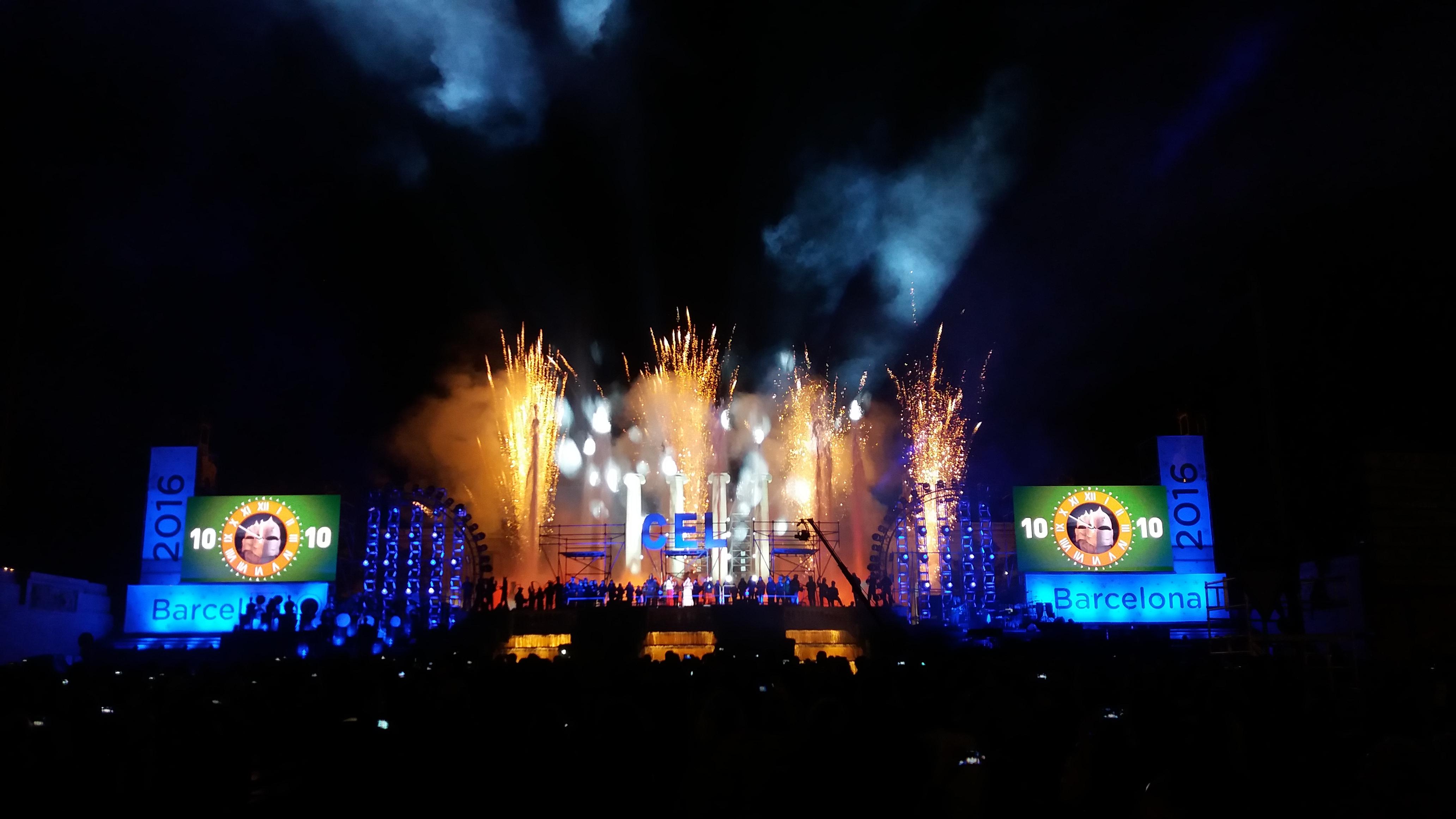 Barcelona d na la benvinguda al nou any 2016 cultura popular - Agenda cultura barcelona ...