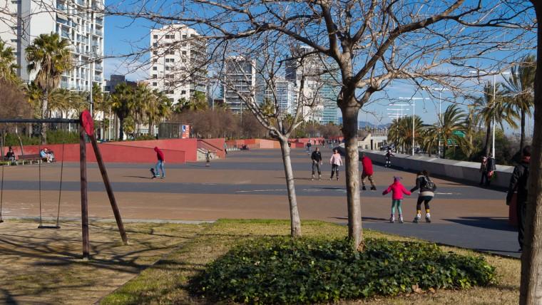 Parc Linial Garcia Fària - Gener 2015