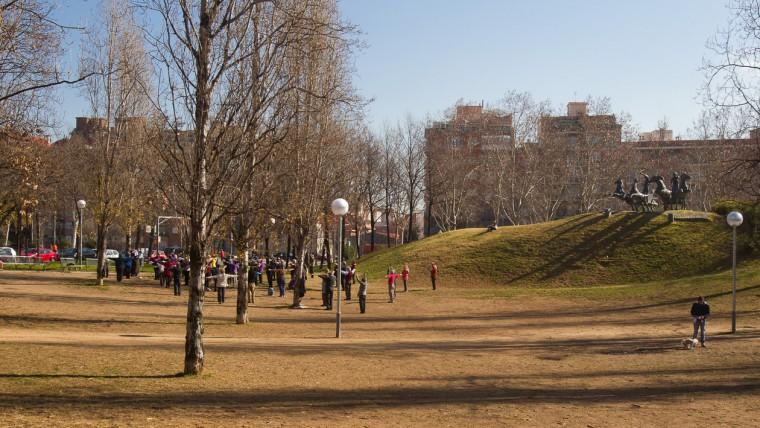 Parc de Can Dragó - Febrer 2015