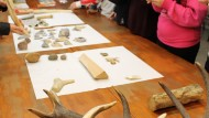 EscoLab, recerca, investigació, educació secundària, visita, laboratori, ciència, tecnologia, CSIC, Milà i Fontanals, arqueologia, prehistòria