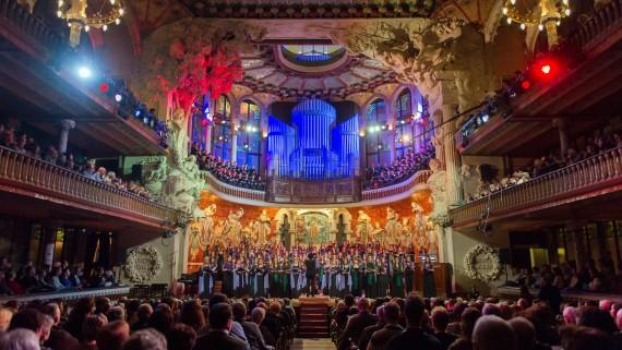 palau de la música, concert de sant esteve, orfeó català