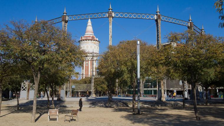Parc de la Barceloneta - Gener 2015