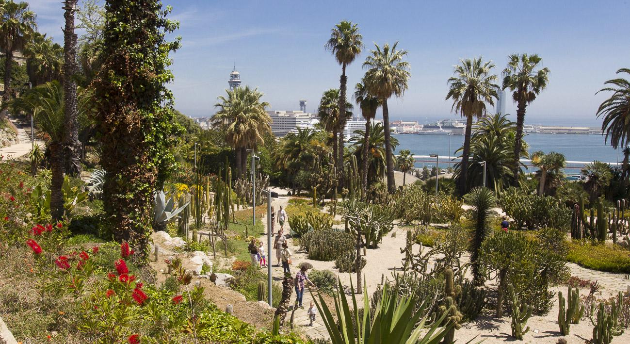 Jardines de moss n costa i llobera web de barcelona for Barcelona jardin