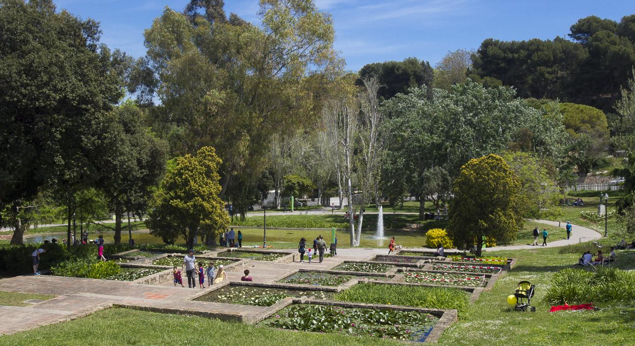 Jardines de moss n cinto verdaguer web de barcelona for Jardines de joan brossa