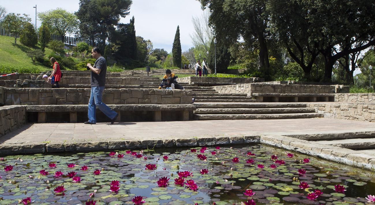 Jardines de moss n cinto verdaguer web de barcelona for Parques y jardines
