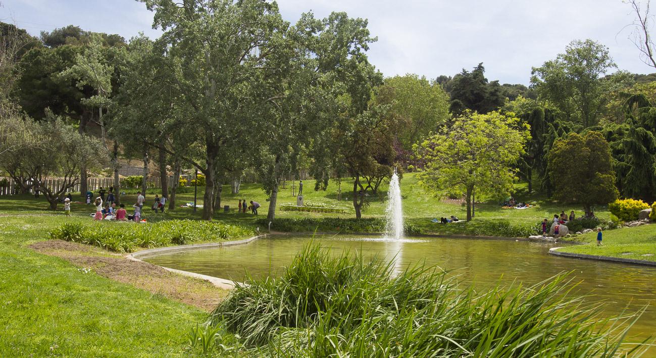 Jardines de moss n cinto verdaguer web de barcelona for Barcelona jardin