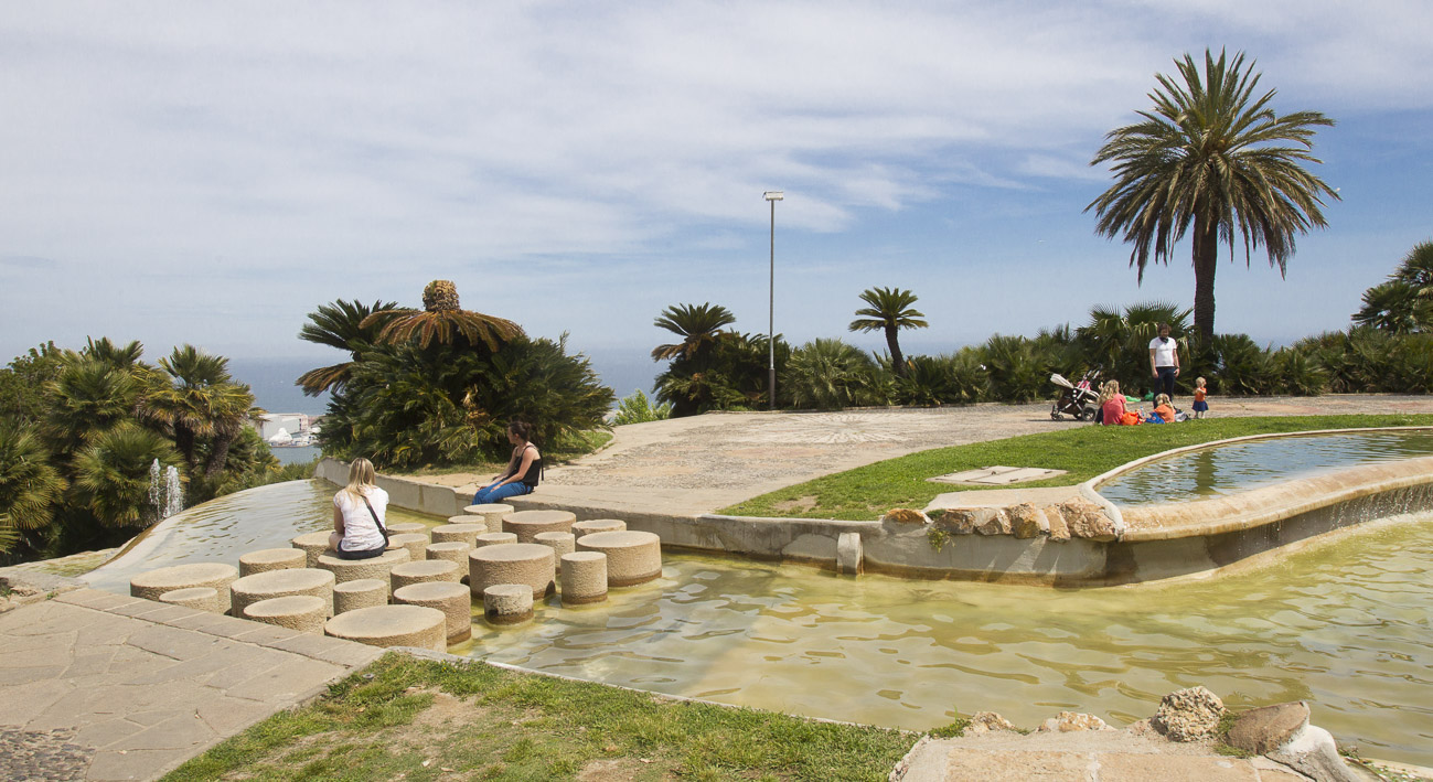 Jardines del mirador del alcalde web de barcelona for Parques y jardines de barcelona