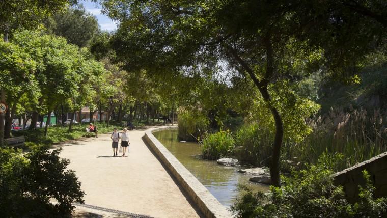 Parc del Mirador del Poble-sec - Maig 2015