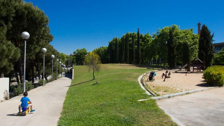 Parc de Carles I - Maig 2015