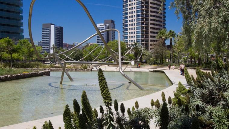 Parc de Diagonal Mar - Maig 2015