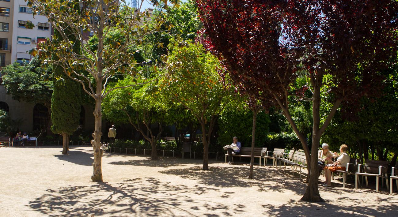 Jardins del palau robert web de barcelona for Jardines del palau