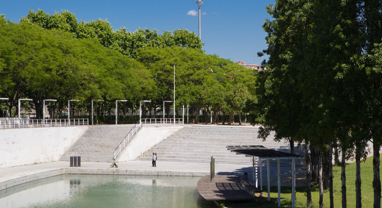 Parque de la trinitat web de barcelona for Parques de barcelona