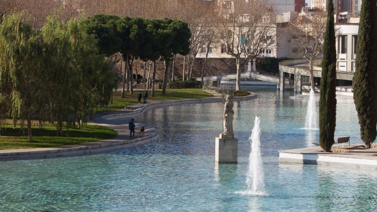 Parc de l'Espanya Industrial - Gener 2015