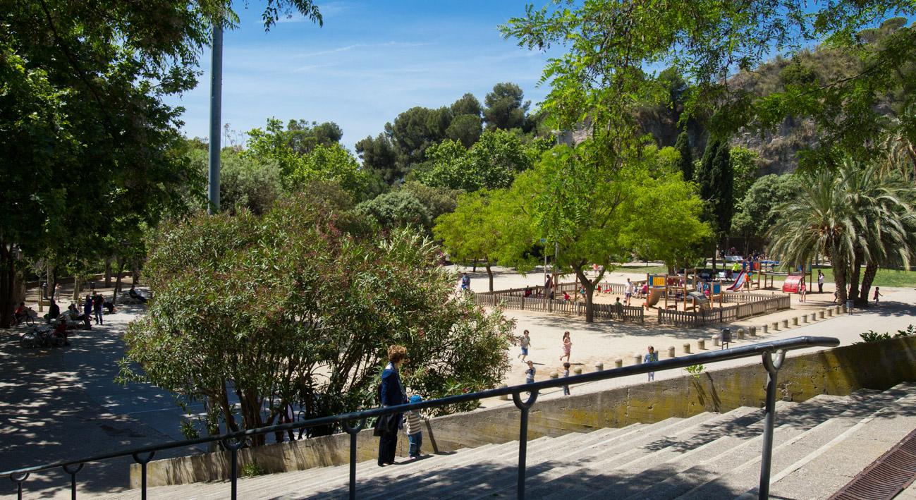 Parque de la creueta del coll web de barcelona for Piscina creueta del coll
