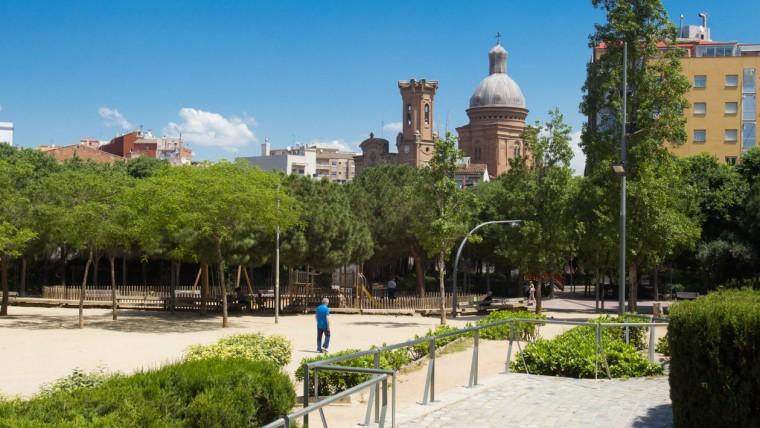 Jardins Plaça de Can Fabra - Maig 2015