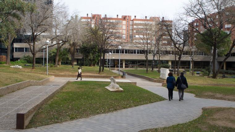 Jardins de Jaume Vicens Vives - Gener 2015