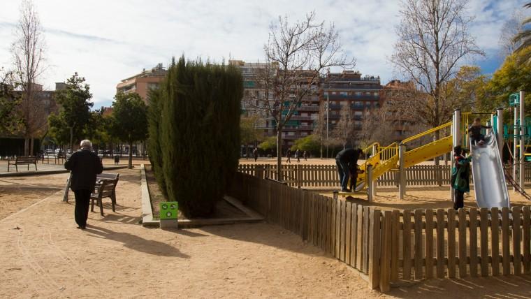 Jardins del Clot de la Mel - Gener 2015