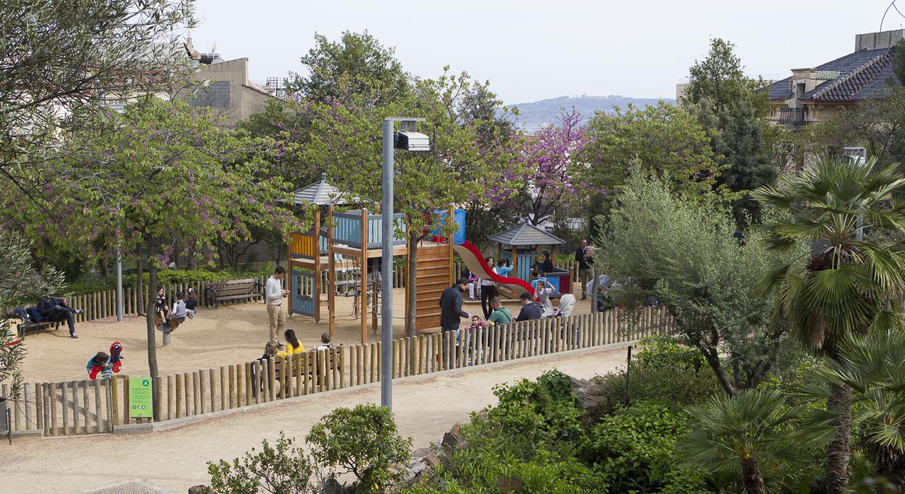 Parque de monterols web de barcelona for Parques de barcelona