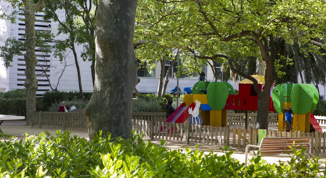 Jardines de vil la am lia web de barcelona - Jardines de barcelona ...