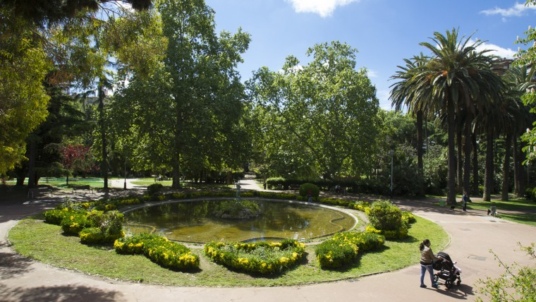 Jardins de la Vil·la Amèlia - Abril 2015