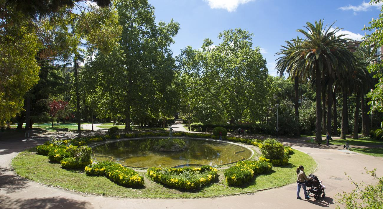 Jardines de vil la am lia gu a bcn agenda de - Jardines de barcelona ...