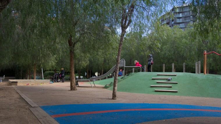 Parc del Centre del Poblenou - Febrer 2015