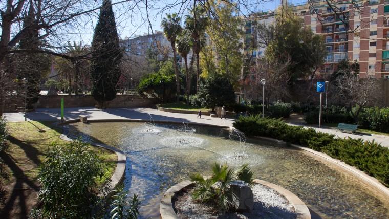 Parc de Can Sabaté - Febrer de 2015