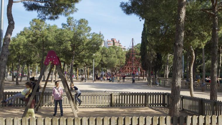 Parc de Joan Miró - Maig 2015