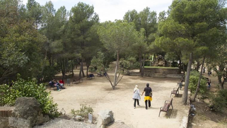 Parc del Castell de l'Oreneta - Febrer 2015