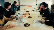 Imatge d'una reunió de treball