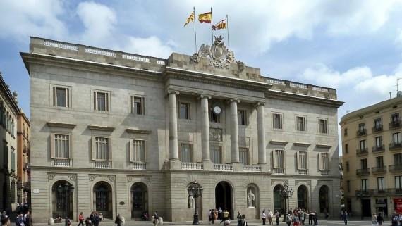 Façana del Ajuntament de Barcelona