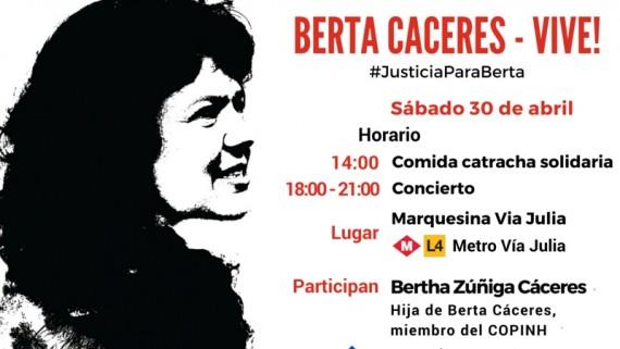 homenatge a Berta Cáceres