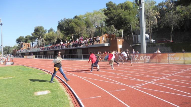 1a Olimpiada De Sants Montjuic A L Estadi Joan Serrahima