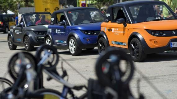 No limit Motor Tour 2015. Cursa. Discapacitats. Inclusió. Vehicles ecològics.