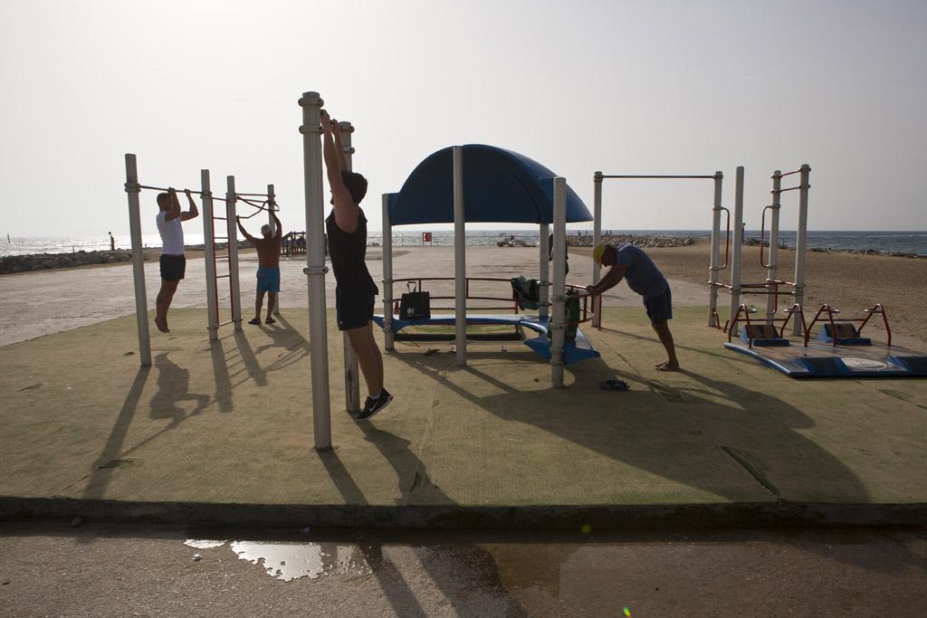 Circuitos deportivos al aire libre para mejorar la condición física | Guardia Urbana de Barcelona | Ajuntament de Barcelona