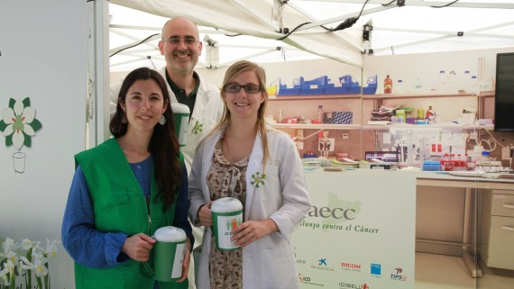 AECC-Catalunya contra el càncer. Campanya de recaptació de fons per a la recerca oncològica