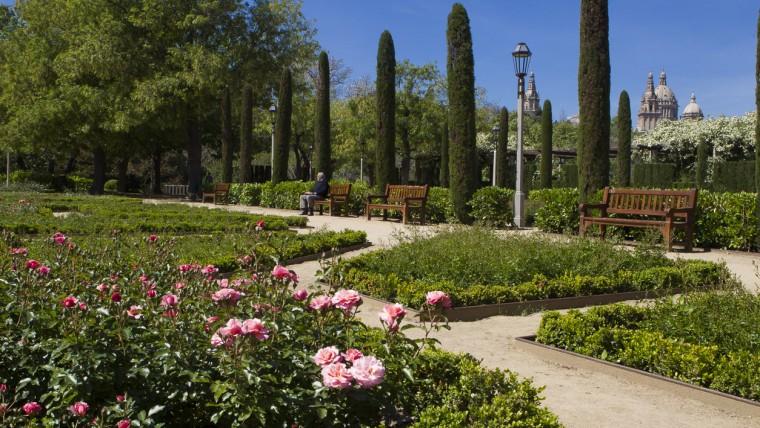 Jardins del Teatre Grec - Maig 2015
