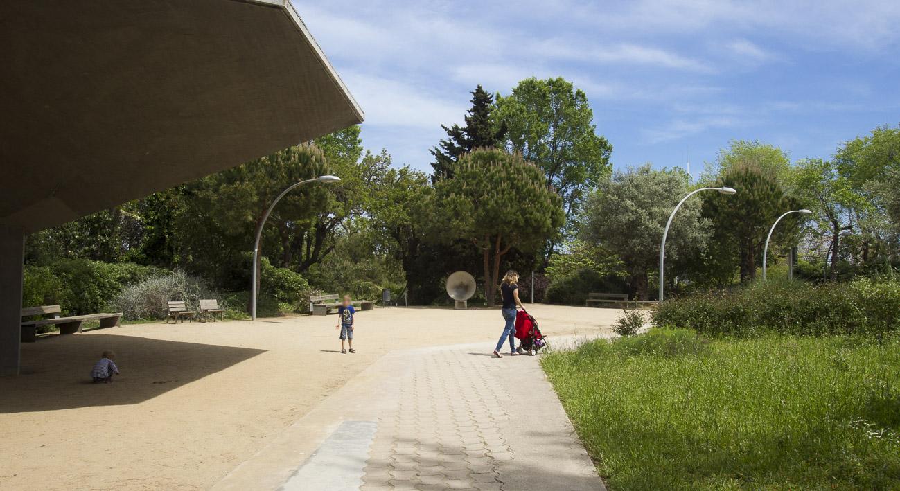 jardines de joan brossa web de barcelona