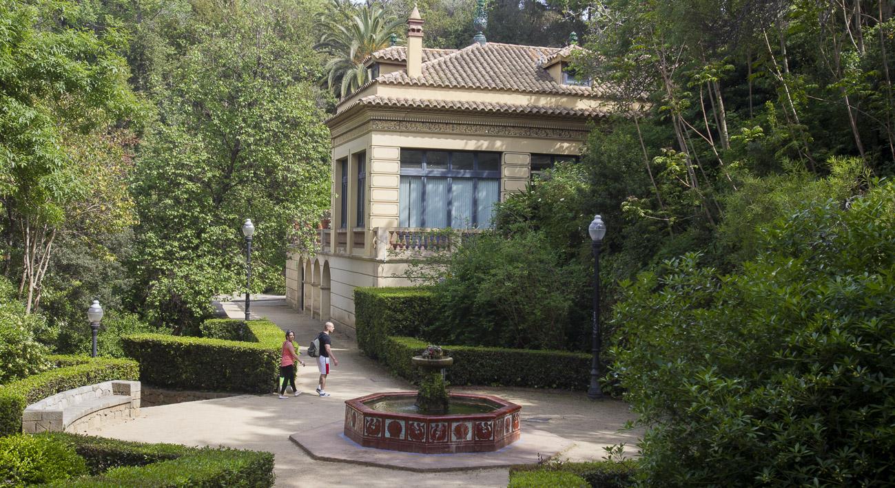 Jardines de laribal web de barcelona for Parques y jardines de barcelona