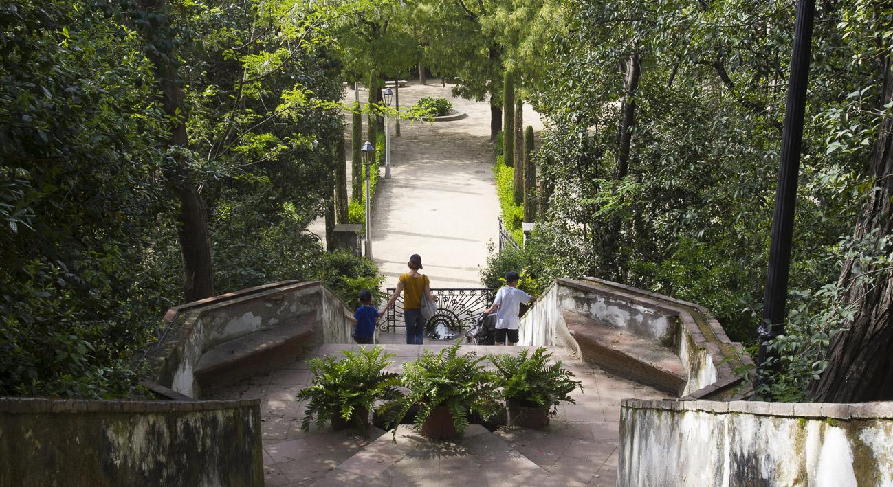 Jardines de laribal web de barcelona for Jardines laribal