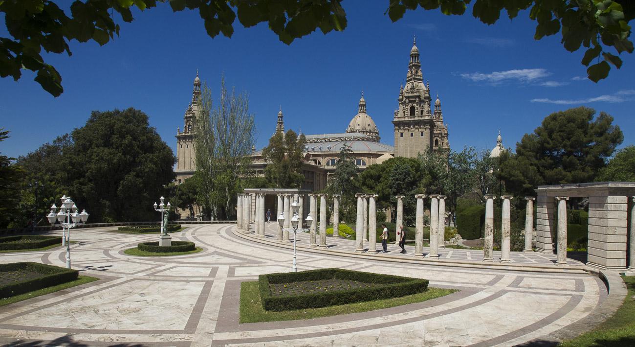Jardines de joan maragall web de barcelona for Jardines laribal