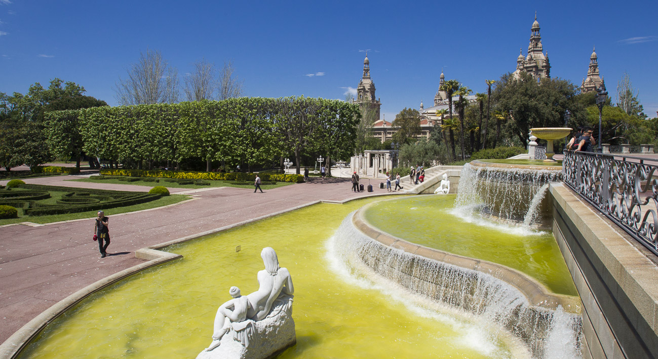 Jardines de joan maragall web de barcelona - Jardines de barcelona ...