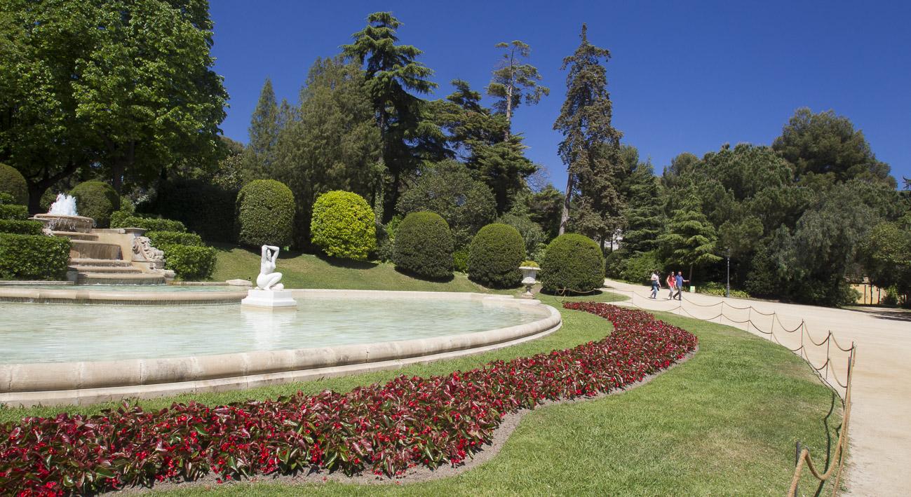 jardines del palacio de pedralbes web de barcelona