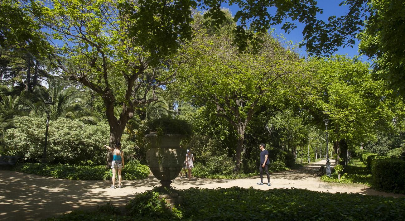 Jardins del palau de pedralbes la meva barcelona - Jardins del palau ...