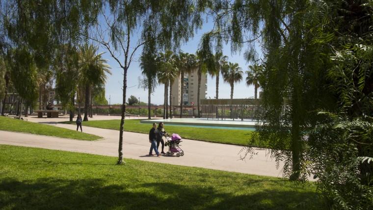 Parc de Josep Maria Serra Martí - Abril 2015