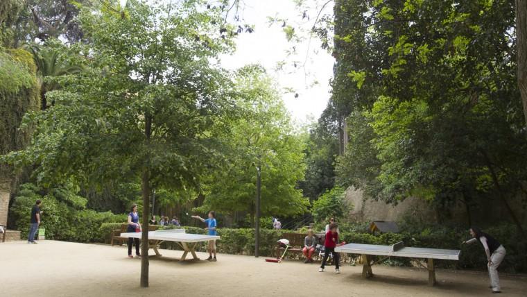 Jardins de la Tamarita - Maig 2015