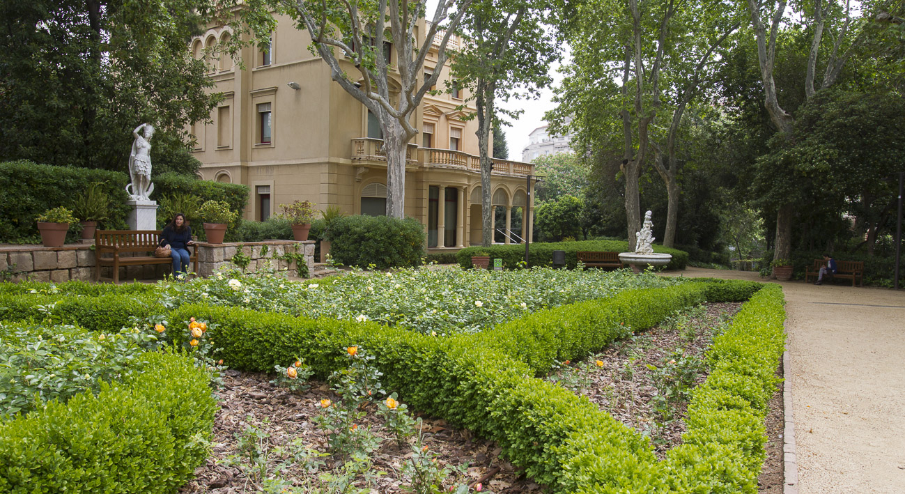jardines de la tamarita web de barcelona