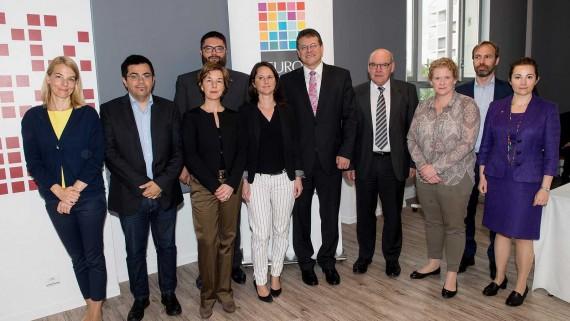 Trobada a Nantes de la Xarxa Eurocities sobre smart cities, amb l'assistència de Gerardo Pisarello.